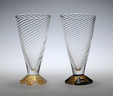 Aperitif Glasses by Tom Stoenner (Art Glass Glasses)