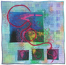 Directions #1 by Michele Hardy (Art Quilt)