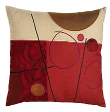 Merlot Lines by Susan Hill (Pillow)
