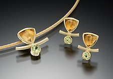 Joy Pendant by Ilene Schwartz (Gold & Stone Pendant)