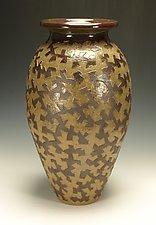 Puzzle Vessel by Lance Timco (Ceramic Vessel)
