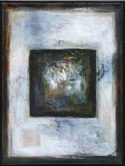 Mist Walking by Marsh Scott (Oil Painting)