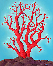 Red Coral by Jane Troup (Giclée Print)
