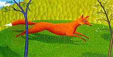 The Fox by Jane Troup (Giclée Print)