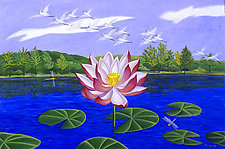 The Lotus Blossom by Jane Troup (Giclée Print)
