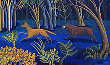 The Chase by Jane Troup (Giclée Print)