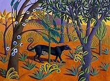 The Black Panther by Jane Troup (Giclée Print)