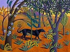 The Black Panther by Jane Troup (Giclée Print)