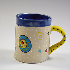 Circle Circle Mug by Vaughan Nelson (Ceramic Mug)