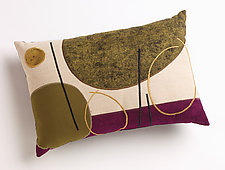 Plum Lines by Susan Hill (Pillow)