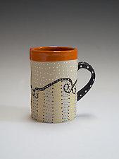 Swirl Mug by Vaughan Nelson (Ceramic Mug)