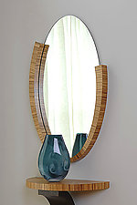 Oval Mirror by Richard Judd (Wood Mirror)