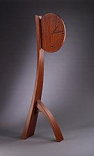 Forward in Time by Brian Hubel (Wood Floor Clock)