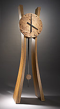 Passage in Time by Brian Hubel (Wood Floor Clock)