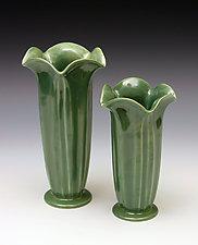 Datura Vase by Whitney Smith (Ceramic Vase)