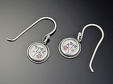 Dragonfly Earrings by Ananda Khalsa (Silver Earrings)