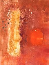 Western Sky 1 by Sandra Humphries (Monotype Print)