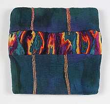 Colorplay VII by Sharron Parker (Fiber Wall Piece)