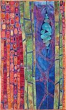 Potential III by Karen Kamenetzky (Fiber Wall Piece)