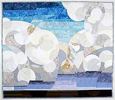 Cumulonimbus by Linda Beach (Fiber Wall Hanging)
