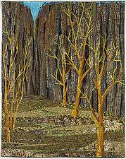 Canyon Willows by Linda Beach (Fiber Wall Art)