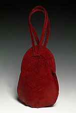 Emma - Syrah Wave by Michelle  LaLonde  (Leather Purse)