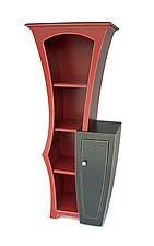 Crook and Cranny Cabinet by Vincent Leman (Wood Cabinet)