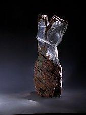 Glass Torso by Caleb Nichols (Art Glass Sculpture)