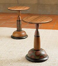Tit for Tat Tables by Kimberly D. Winkle (Wood Occasional Table)