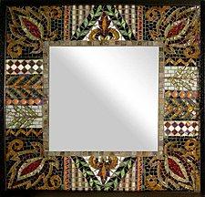 Organics by Sandra Bryant and Carl Bryant (Mosaic Mirror)