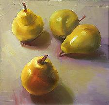 Pears by Cathy Locke (Oil Painting)