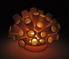 Tubes Tea Light by Lilach Lotan (Ceramic Light)