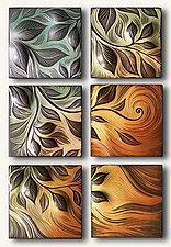 Vine Motif by Natalie Blake (Ceramic Wall Sculpture)