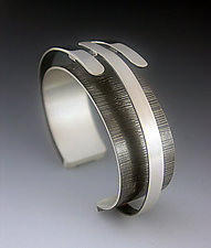 Triple Arc Bracelet by Theresa Carson (Silver bracelet)