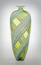 Tessera Bottle by Nicholas Kekic (Art Glass Bottle)