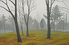 Landscape in Fog by Jane Troup (Giclée Print)