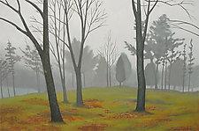 Landscape in Fog by Jane Troup (Giclée Print)