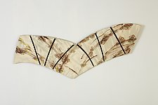 Wings by Kristi Sloniger (Ceramic Wall Sculpture)