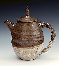 Teapot #17 by Ron Mello (Ceramic Teapot)