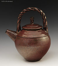 Teapot #53 by Ron Mello (Ceramic Teapot)