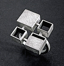 Bauhaus Ring by Hilary Hachey (Silver Ring)