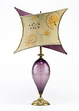 Jessica by Susan Kinzig and Caryn Kinzig (Mixed-Media Table Lamp)
