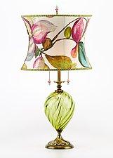 Lana by Susan Kinzig and Caryn Kinzig (Mixed-Media Table Lamp)
