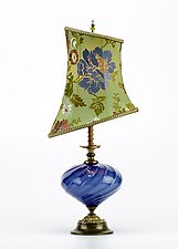 Irene by Susan Kinzig and Caryn Kinzig (Mixed-Media Table Lamp)