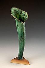 Wrapt Vase by Daniel Slack (Ceramic Vase)