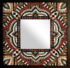 Symphony by Sandra Bryant and Carl Bryant (Mosaic Mirror)
