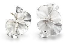 Calla Lily Earrings by Jayne Redman (Silver Earrings)