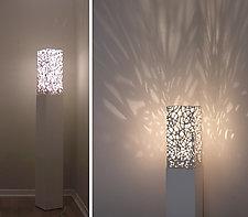 Aer I Floor Lamp by Muhammad Moussa (Ceramic Floor Lamp)