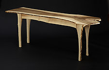 Faun Table by Peter F. Dellert (Wood Console Table)