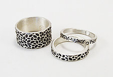 Stacking Rings by Martha Sullivan (Silver Rings)